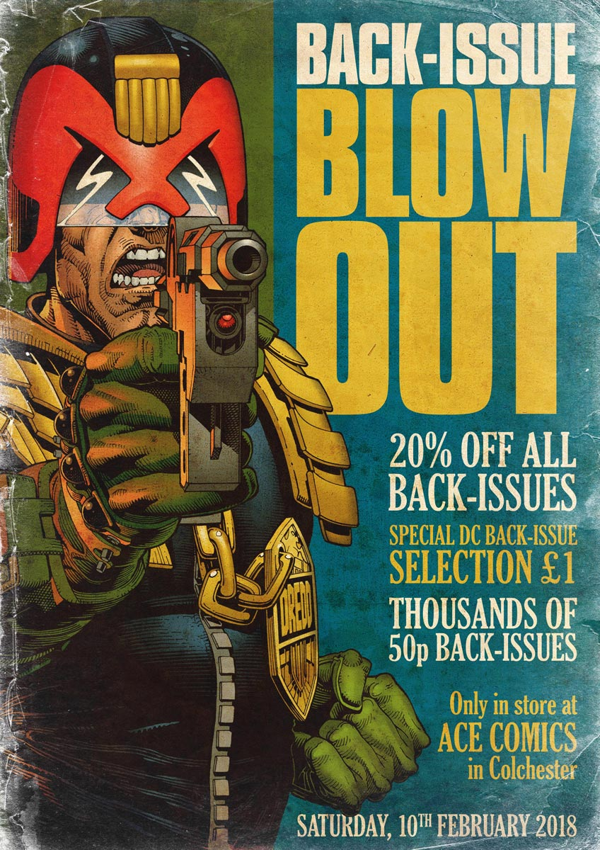 Back-Issue Blowout - Saturday, 10th February 2018
