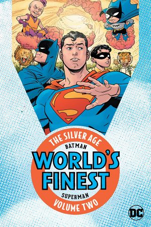 Batman and Superman in World's Finest: The Silver Age Vol.02