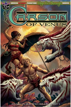 Carson Of Venus: Fear On Four Worlds #1