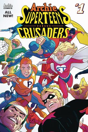 Archie Superteens Vs Crusaders #1