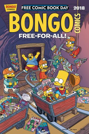 Bongo Comics' Free-For-All