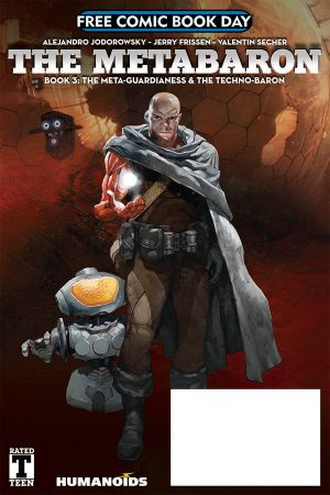 Metabaron: Meta Guardianess And Techno Baron