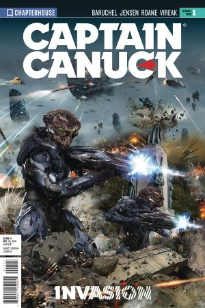 Captain Canuck: Season 4 #1