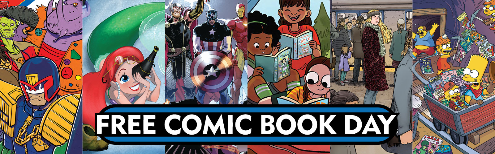 Free Comic Book Day: 5 May 2018