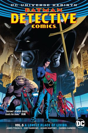 Batman - Detective Comics Vol.05: A Lonely Place of Living