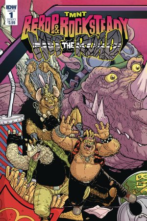TMNT: Bebop And Rocksteady Hit The Road #1