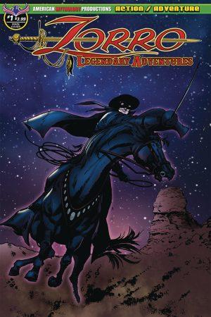Zorro: Legendary Adventures #1