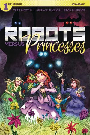 Robots Vs Princesses #1