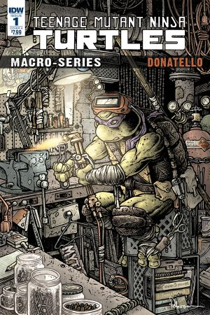 Teenage Mutant Ninja Turtles: Macroseries #1