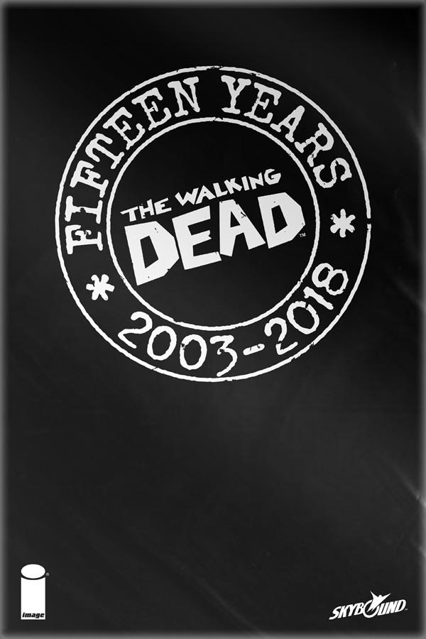 Walking Dead: 15th Anniversary Blind Bag Set