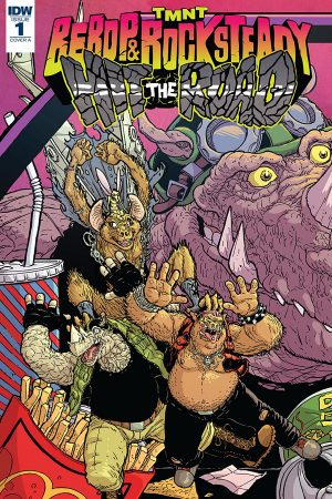 Teenage Mutant Ninja Turtles: Bebop and Rocksteady Hit the Road #1