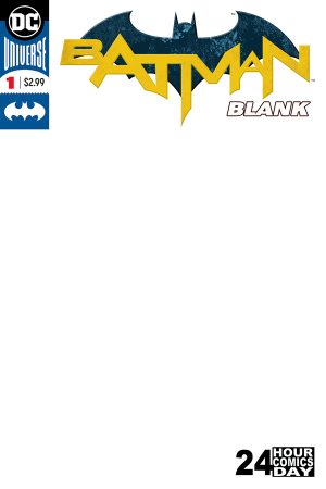 Batman Blank Comic