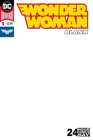 Wonder Woman Blank Comic