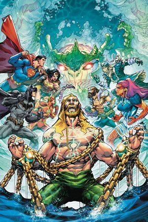 Justice League / Aquaman: Drowned Earth #1