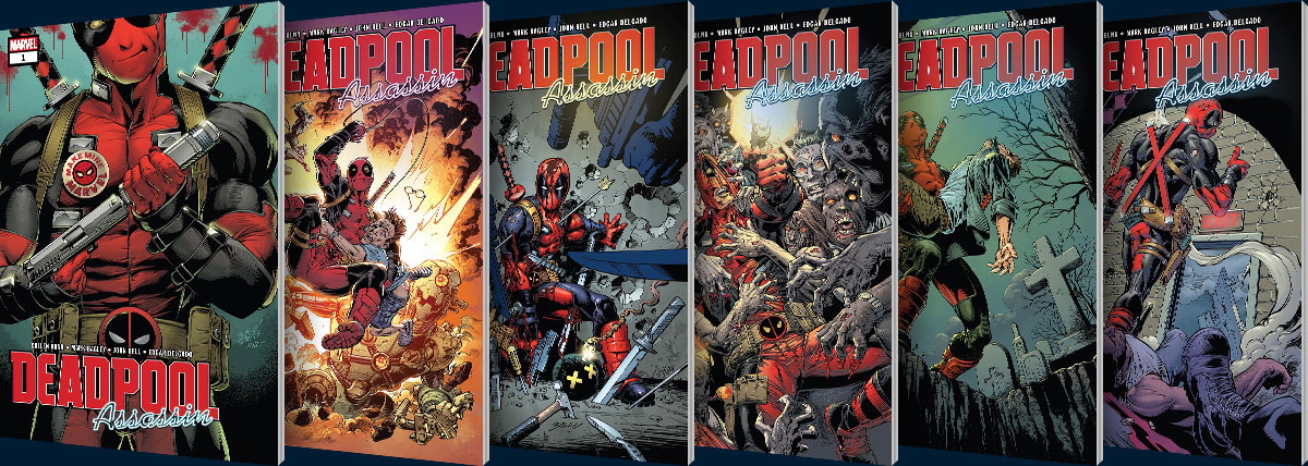 Deadpool: Assassin #1-6