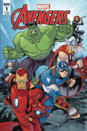 Marvel Action: Avengers #1
