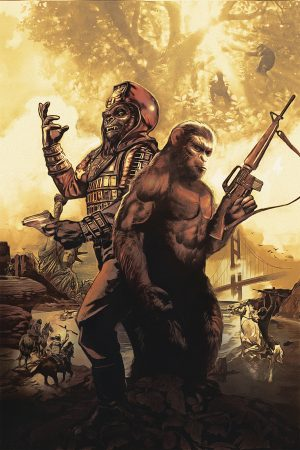 Planet of the Apes: The Simian Age #1