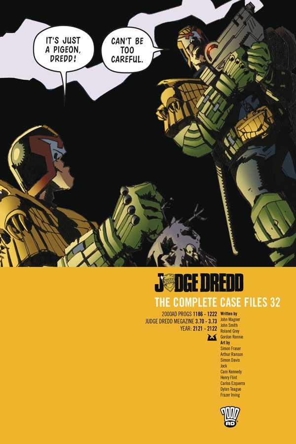 Judge Dredd: Complete Case Files Vol.32