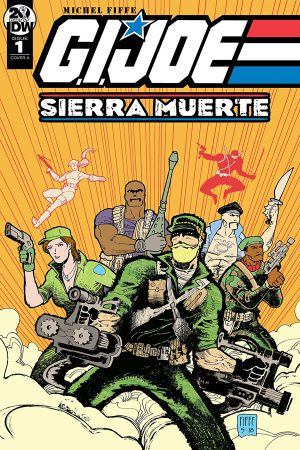 GI Joe: Sierra Muerte #1