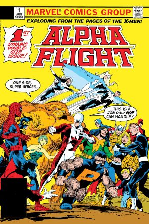 Alpha Flight #1 (Facsimile)