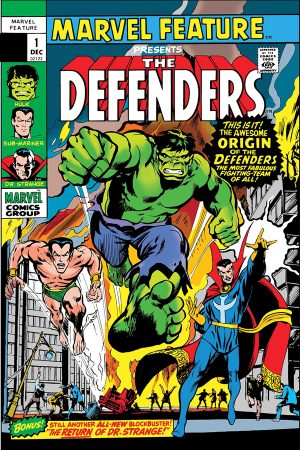 Defenders: Marvel Feature #1 (Facsimile)