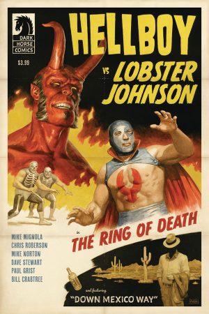 Hellboy vs Lobster Johnson: The Ring of Death