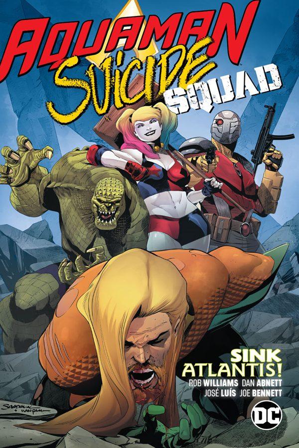 Aquaman / Suicide Squad: Sink Atlantis